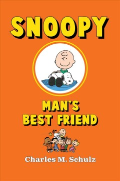 Snoopy, man's best friend book cover