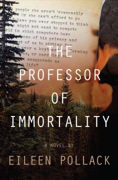 The professor of immortality : A Novel book cover