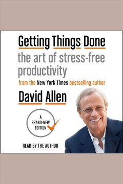 Getting things done the art of stress-free productivity book cover