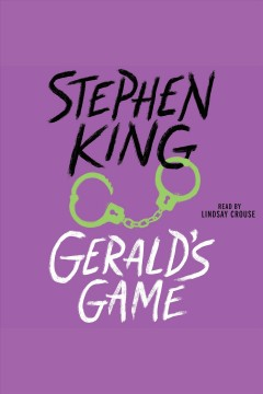 Gerald's game book cover