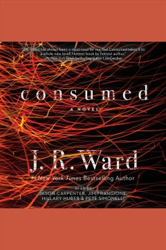 Consumed book cover
