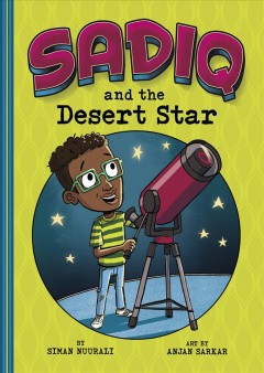 Sadiq and the desert star book cover