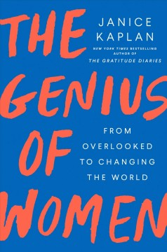 The genius of women : from overlooked to changing the world book cover