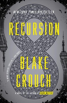 Recursion : a novel book cover