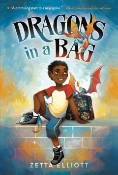 Dragons in a bag book cover