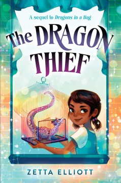 The dragon thief book cover
