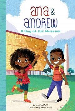 A day at the museum book cover