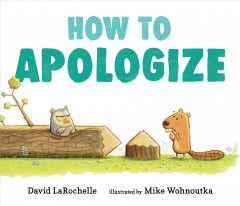 Catalog record for How to apologize