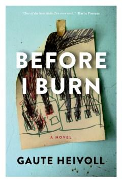 Before I burn book cover
