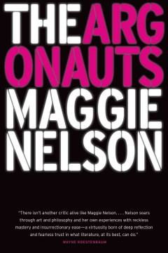 The argonauts  book cover