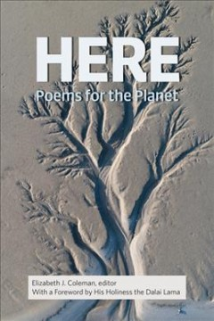 Here : poems for the planet book cover