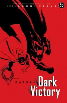 Batman : dark victory book cover