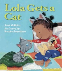 Lola gets a cat book cover