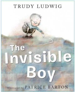 The invisible boy book cover