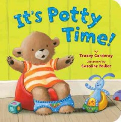 It's potty time! book cover