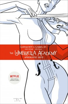 The Umbrella Academy book cover