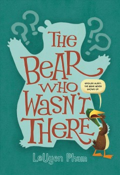The bear who wasn't there book cover