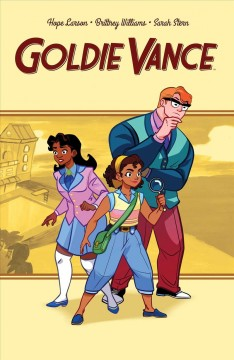 Goldie Vance. Volume one book cover