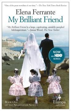 My brilliant friend book cover