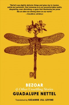 Bezoar : and other unsettling stories book cover