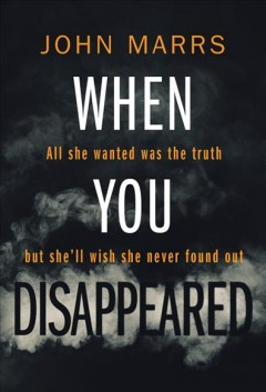 When you disappeared book cover