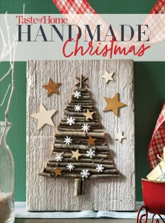 Taste of Home handmade Christmas. book cover