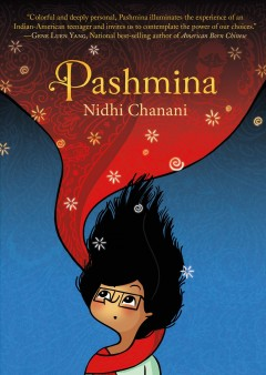 Pashmina book cover