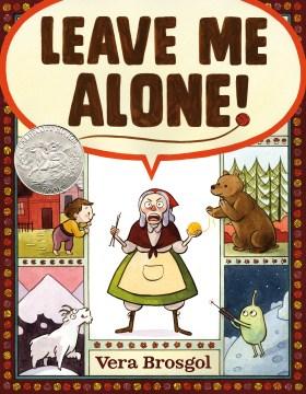 Leave me alone! book cover