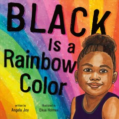 Black is a rainbow color book cover