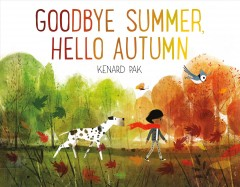 Goodbye summer, hello autumn book cover