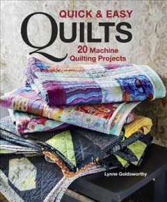 Quick & easy quilts : 20 machine quilting projects book cover