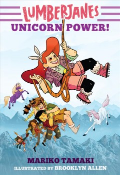 Lumberjanes: unicorn power! book cover