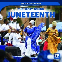 The story behind Juneteenth book cover