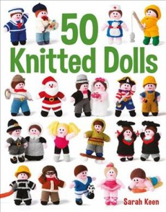 50 knitted dolls book cover