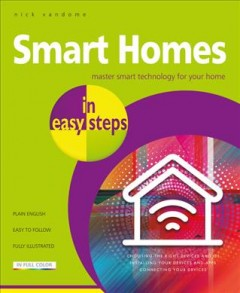Smart homes in easy steps book cover