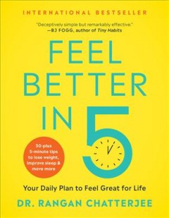 Feel better in 5 : your daily plan to feel great for life book cover