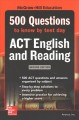 McGraw-Hill Education 500 ACT English and reading questions to know by test day