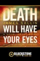 Death will have your eyes a novel about spies