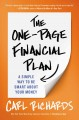 The one-page financial plan : the simple way to be smart about your money