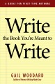 Write the book you're meant to write : a guide for first-time authors
