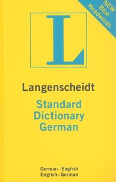 Langenscheidt Standard German Dictionary