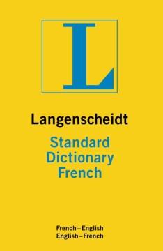 Langenscheidt Standard French Dictionary
