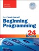Sams teach yourself beginning programming in 24 hours Book Cover