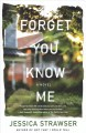 Forget you know me Book Cover