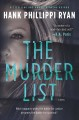 The murder list Book Cover