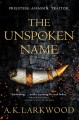 The unspoken name Book Cover