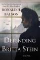 Defending Britta Stein : a novel Book Cover