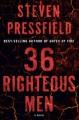 36 righteous men : a novel Book Cover