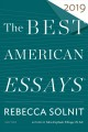 The Best American Essays 2019 Book Cover