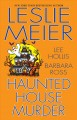 Haunted house murder Book Cover